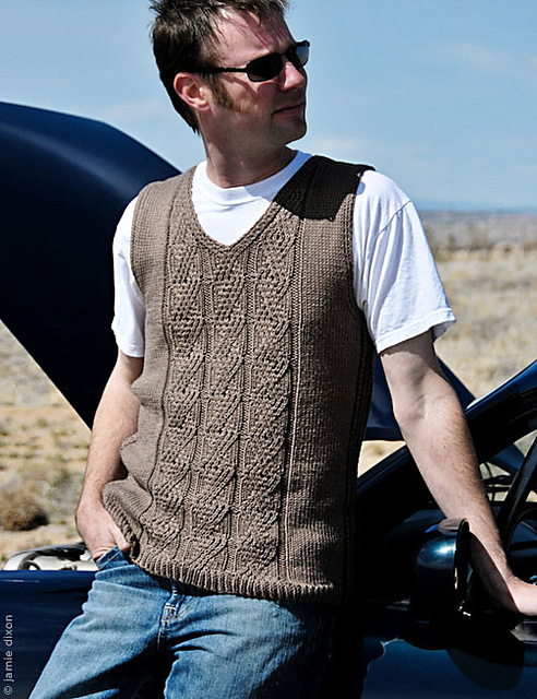 A Bakers Dozen Of Mens Knitted Vest Patterns Knitigating